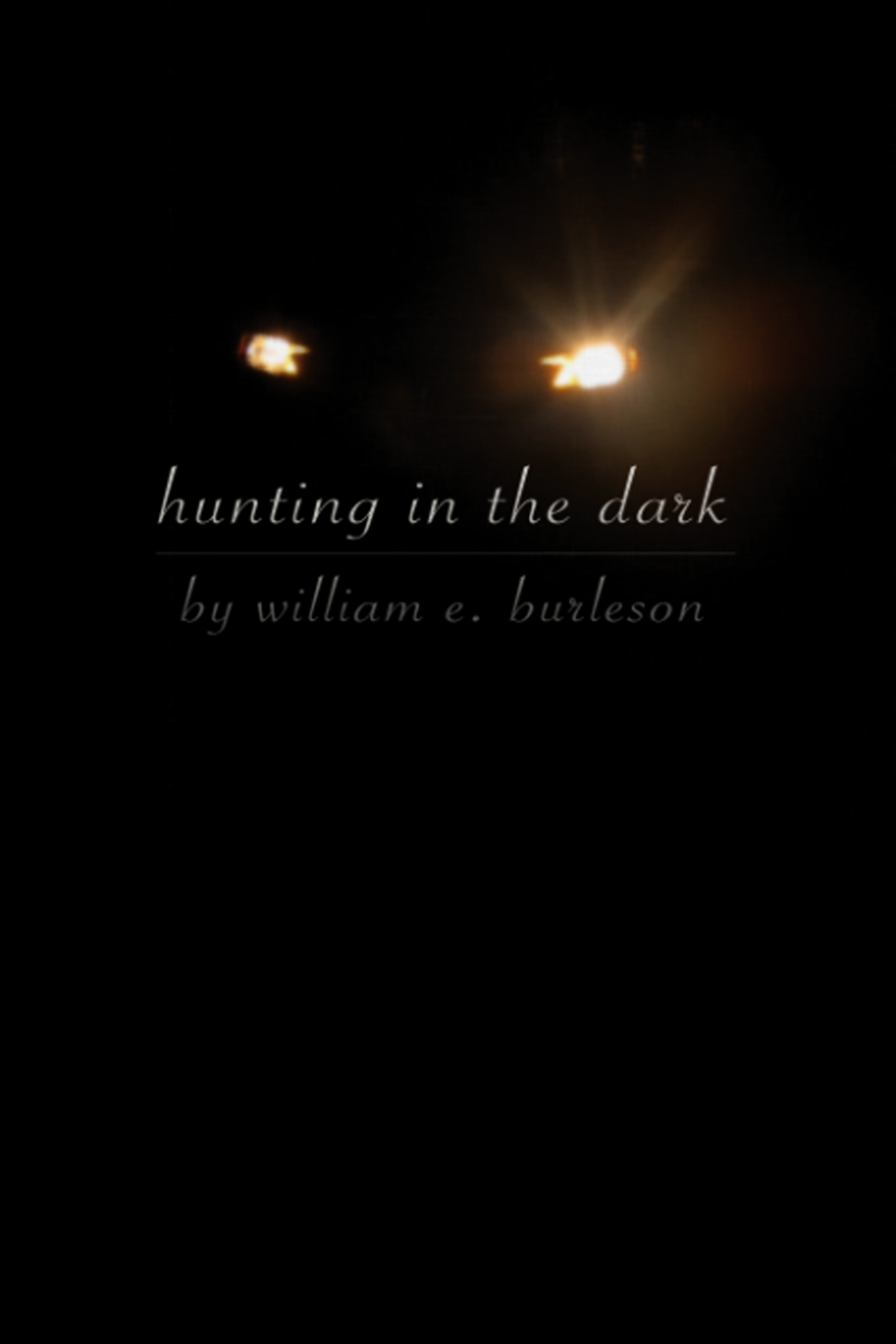 Hunting in the Dark, a flash novel from Bartleby Snopes Press